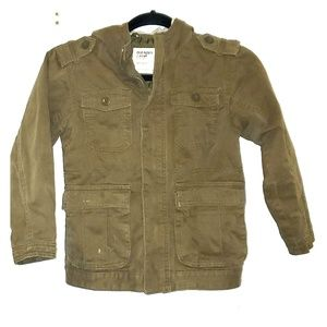 Old Navy Youth Small Jacket Olive Green